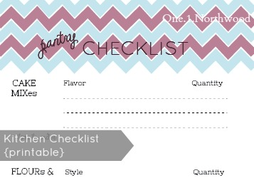 kitchen checklist banner
